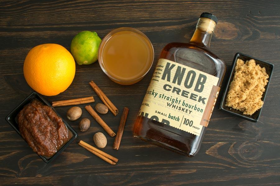 Apple Cider Bourbon Cocktail Ingredients
