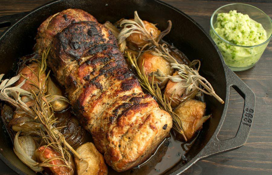 Juicy & Tender Roasted Pork Loin