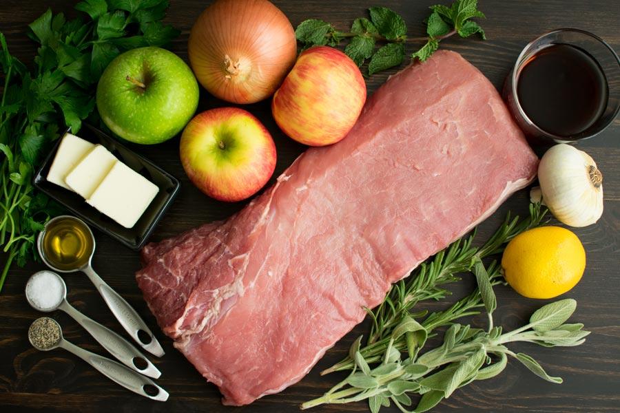 Juicy & Tender Roasted Pork Loin Ingredients