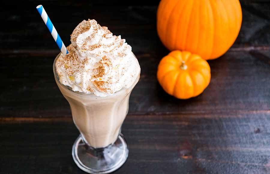 Pumpkin Caramel Milkshake