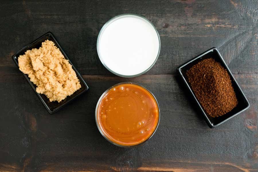 Brûlée Caramel Coffee Ingredients