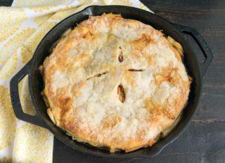 Cast Iron Pan Apple Pie