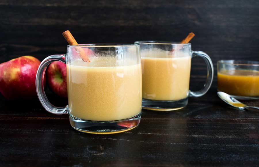 Hot Apple Pie Bourbon Cocktail