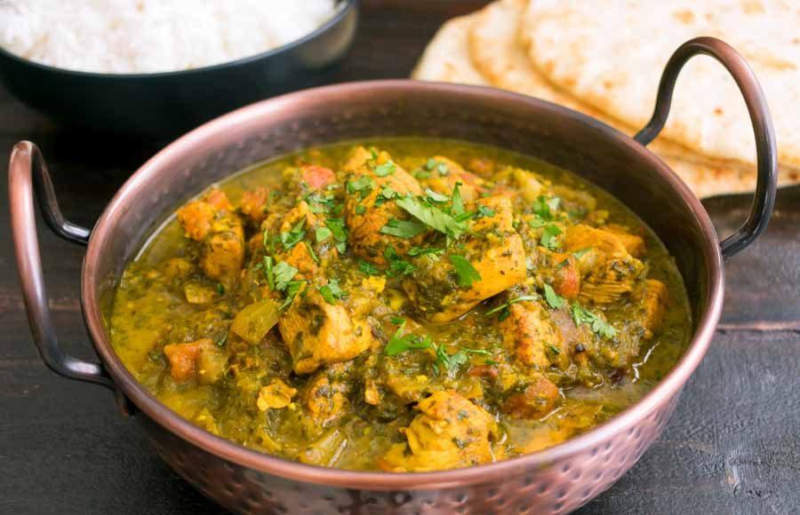 Indian Tomato-Cilantro Chicken