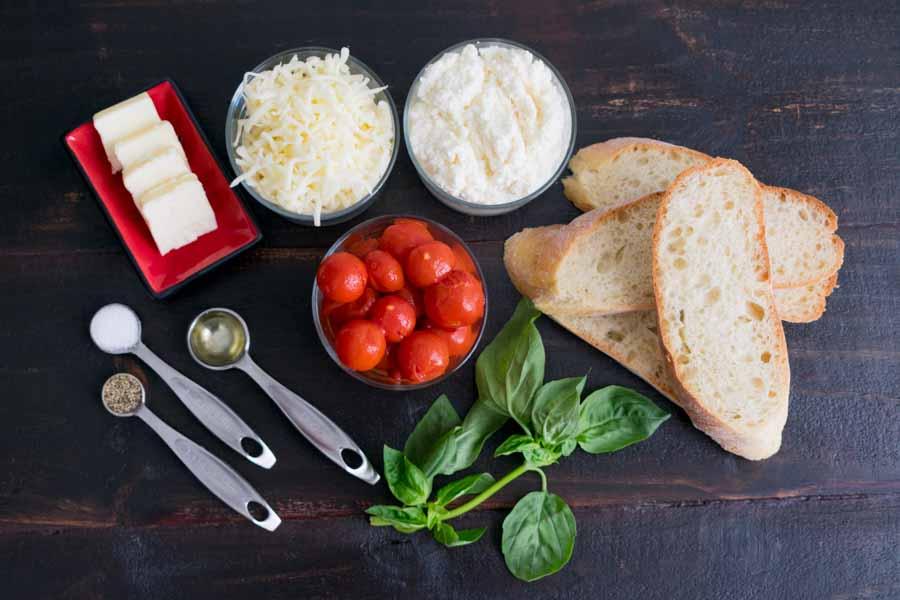 Lasagna Grilled Cheese Ingredients