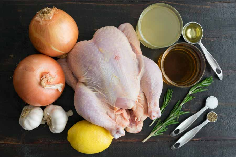 Easy Tuscan Roast Chicken Ingredients