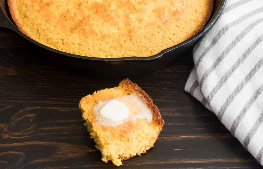 Cast Iron Buttermilk Cornbread