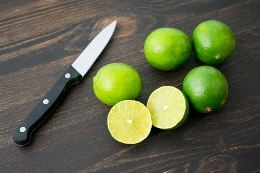 Cutting the lime