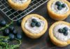 Blueberry Cheesecake Cookie Cups