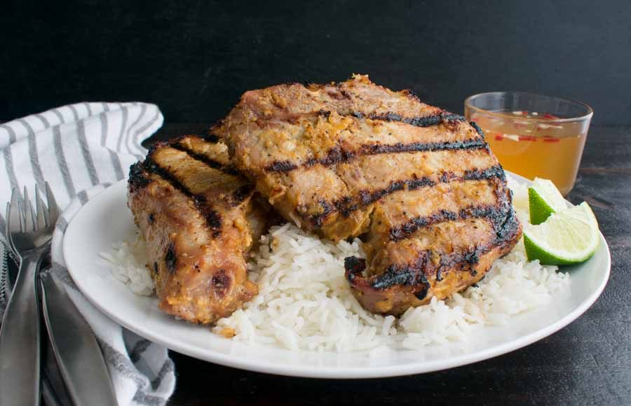 Vietnamese Grilled Lemongrass Pork Chops