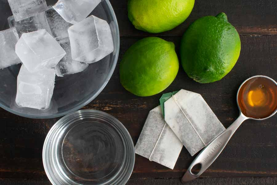 Vietnamese Lime Iced Tea (Tra Chanh Hanoi) Ingredients