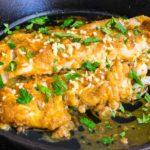 Mediterranean Baked Cod Recipe with Lemon and Garlic