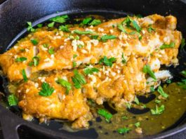 Mediterranean Baked Cod Recipe with Lemon and Garlic