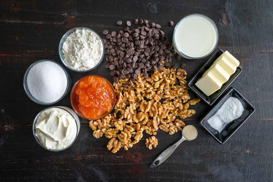Hungarian Zserbo Szelet Ingredients