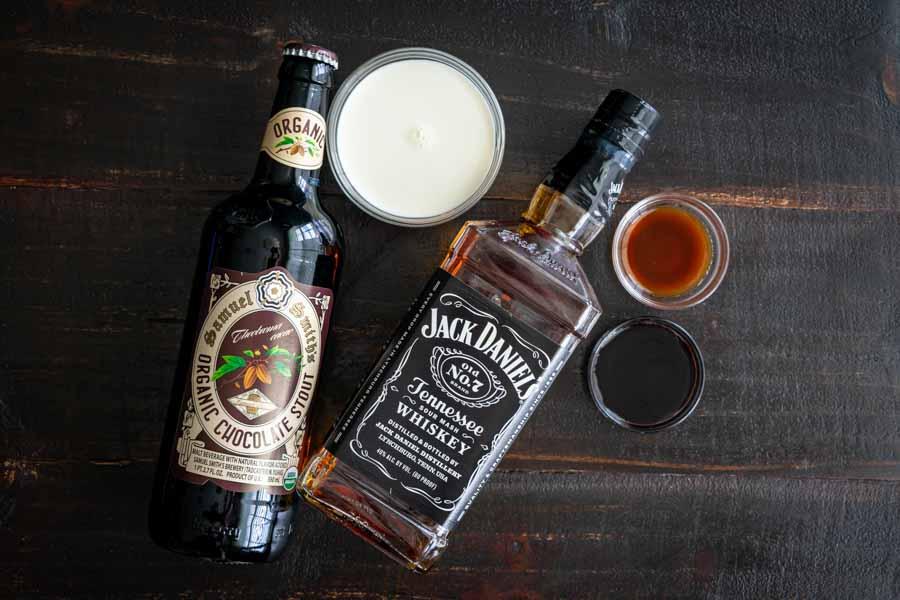 Bourbon Stout Cocktail Ingredients