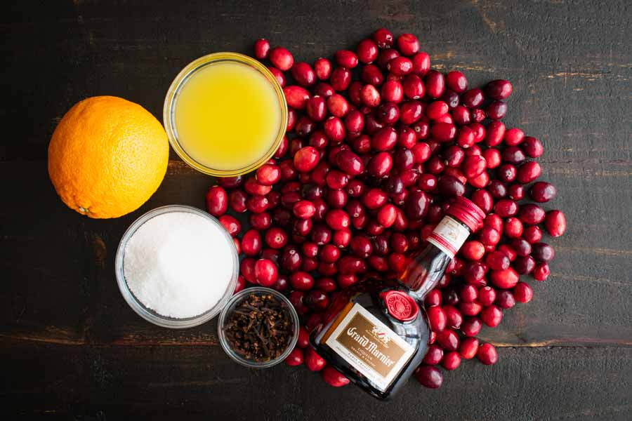 Grand Marnier Cranberry Sauce Ingredients