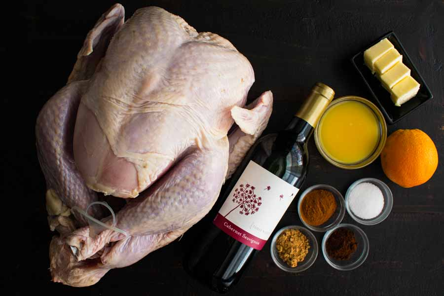 Mulled Wine Turkey Ingredients