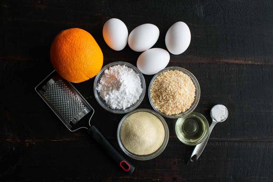 Ghreyba (Coconut Moroccan Cookies) Ingredients
