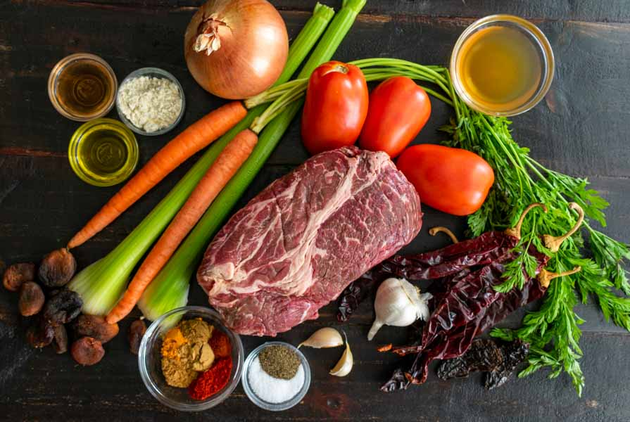 Moroccan Beef Stew Ingredients