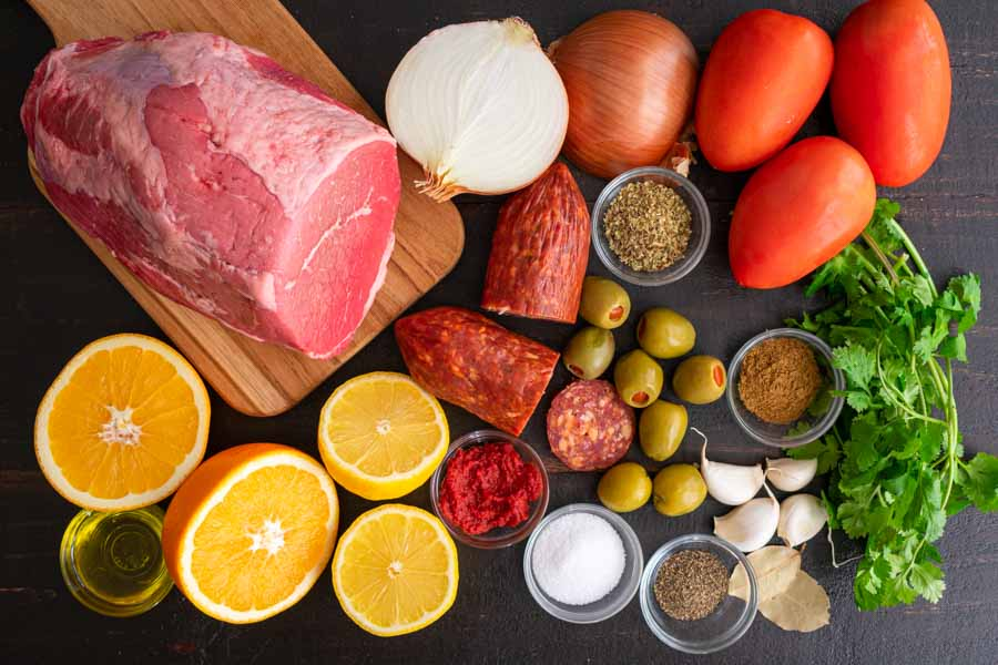Boliche Ingredients
