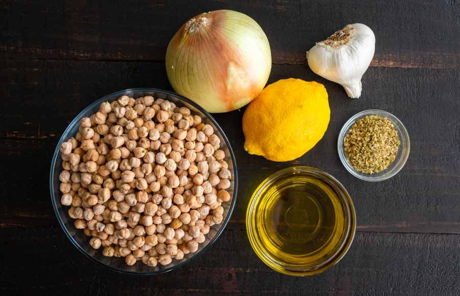 Greek Chickpea Soup With Lemon & Oregano (Revithosoupa) Ingredients