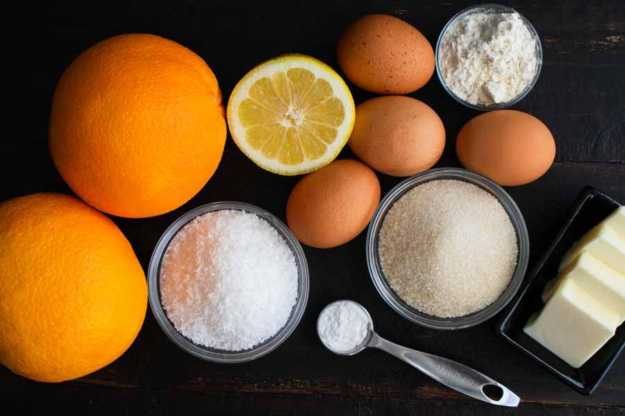 Greek Ravani / Revani Ingredients