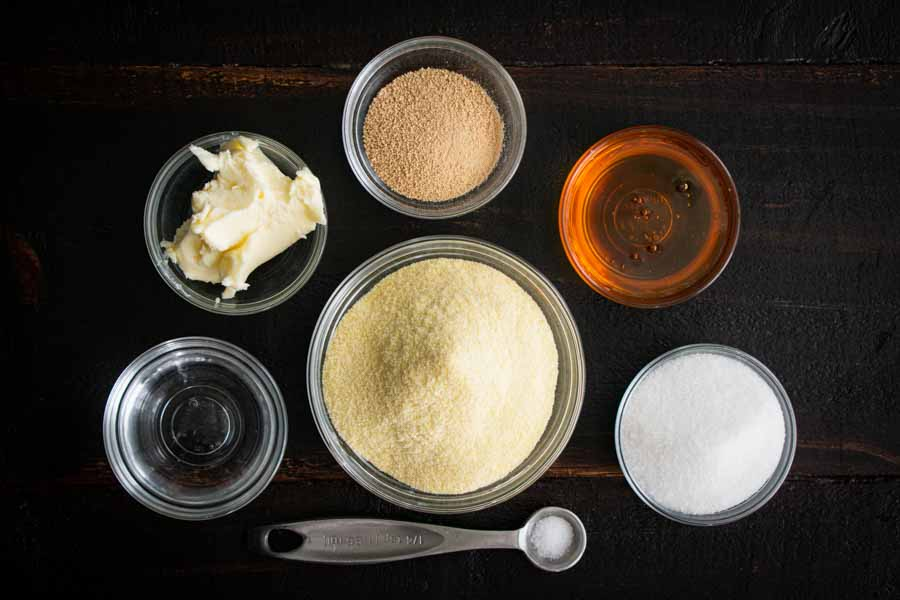 Baghrir (Thousand Hole Crepe) Ingredients