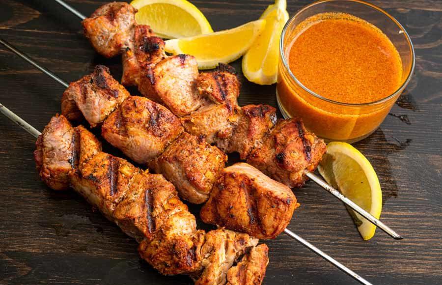 Pinchos Morunos (Spanish Pork Kebabs)