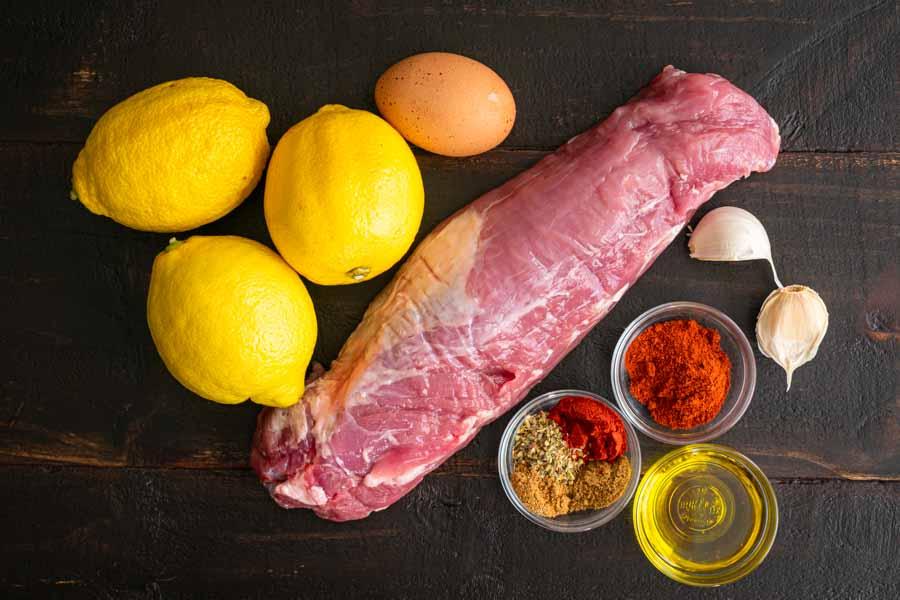 Pinchos Morunos (Spanish Pork Kebabs) Ingredients