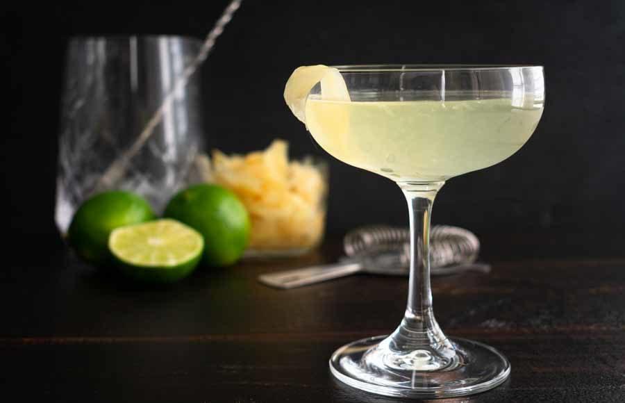 For Goodness Saké – A Saké and Ginger Cocktail