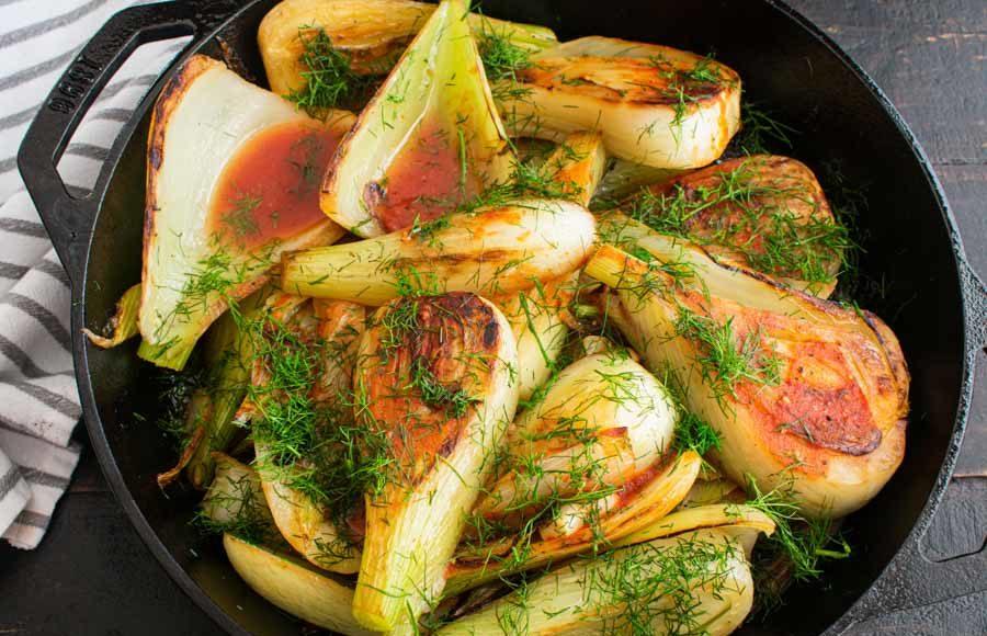 Sautéed Fennel with Garlic