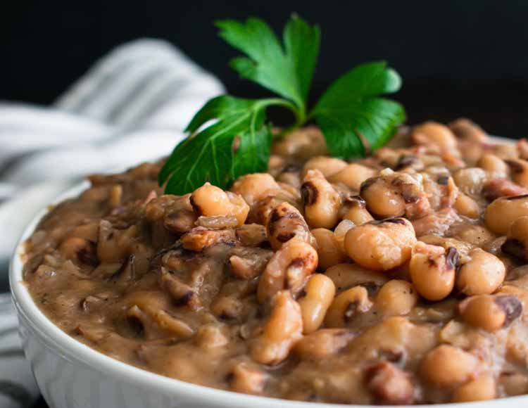 Southern Style Black-Eyed Peas
