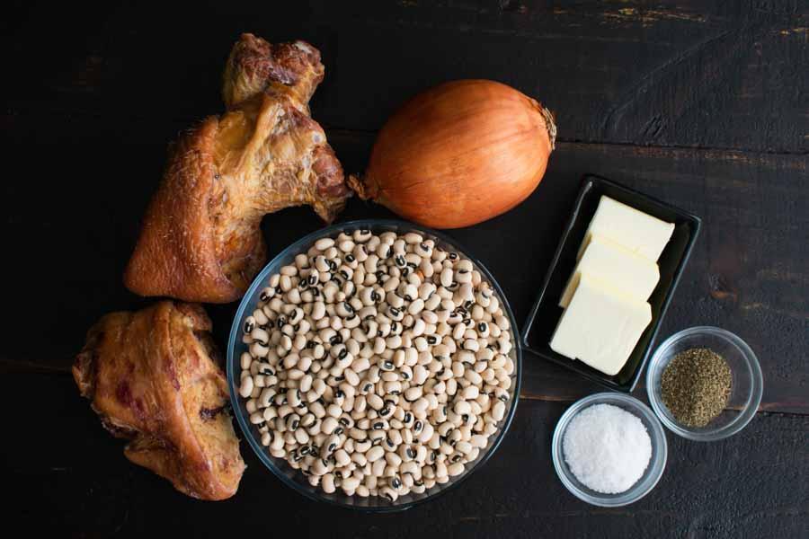 Southern Style Black-Eyed Peas Ingredients