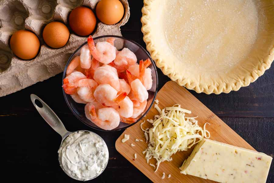 Florida Shrimp Pie Ingredients